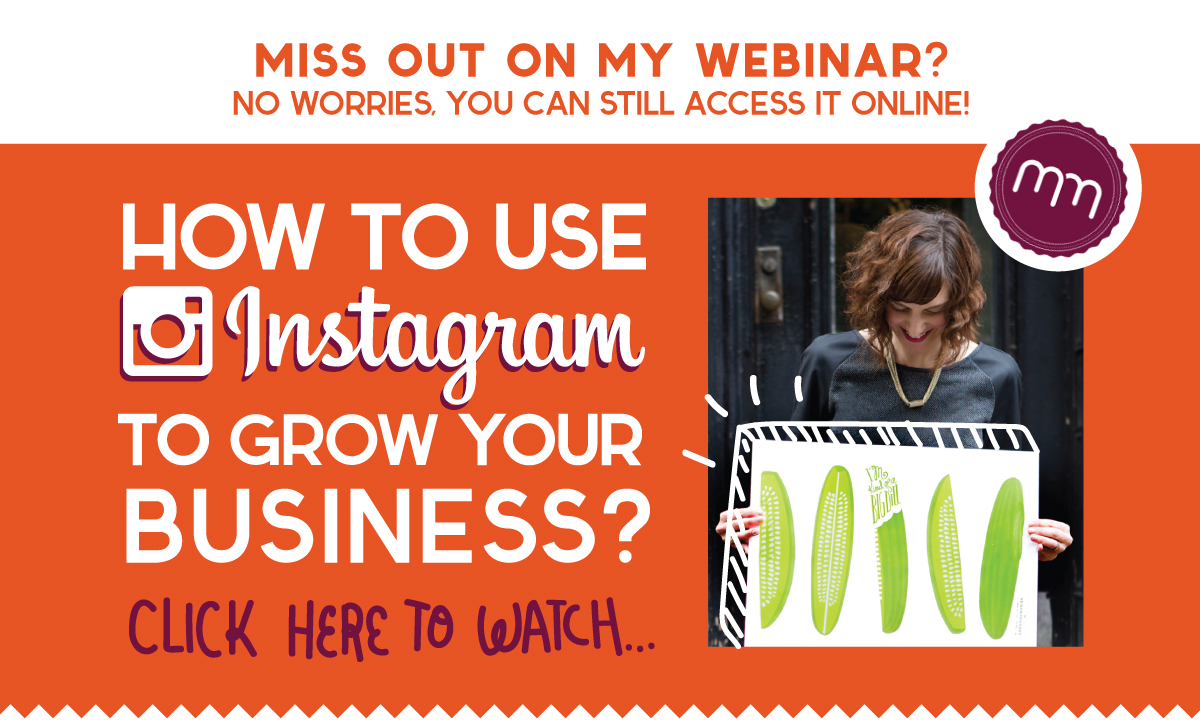 how to use instagram for your business webinar