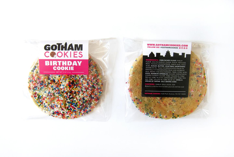 cookie label design