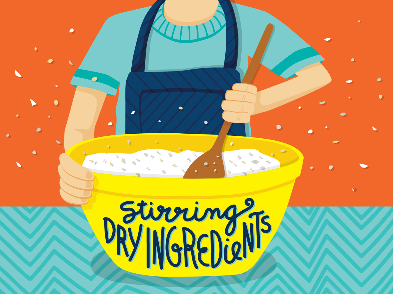 editorial food illustration