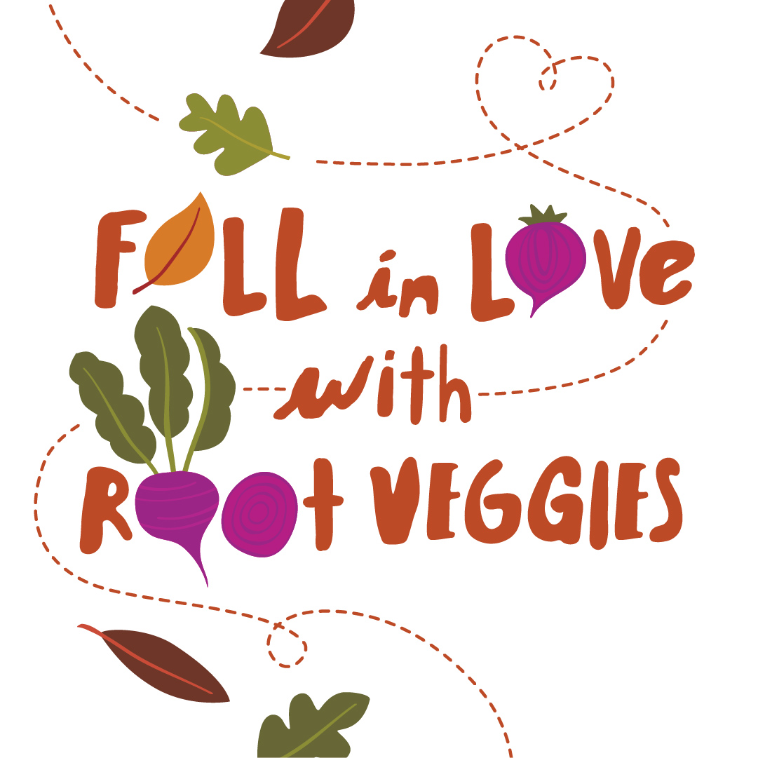 root veggie illustration