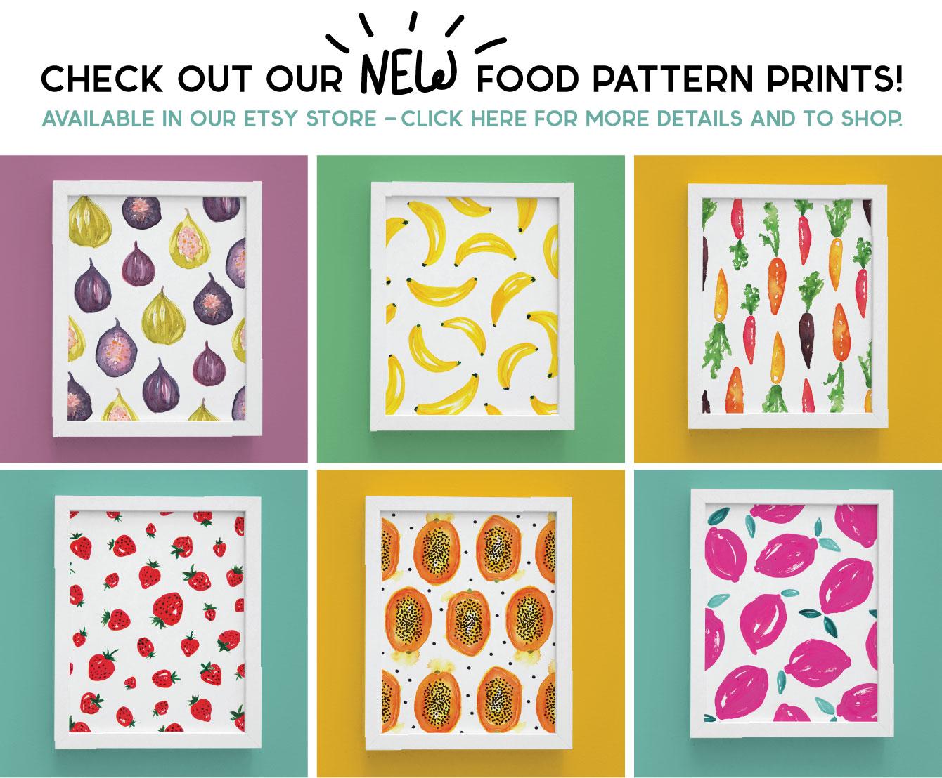 food pattern illustration