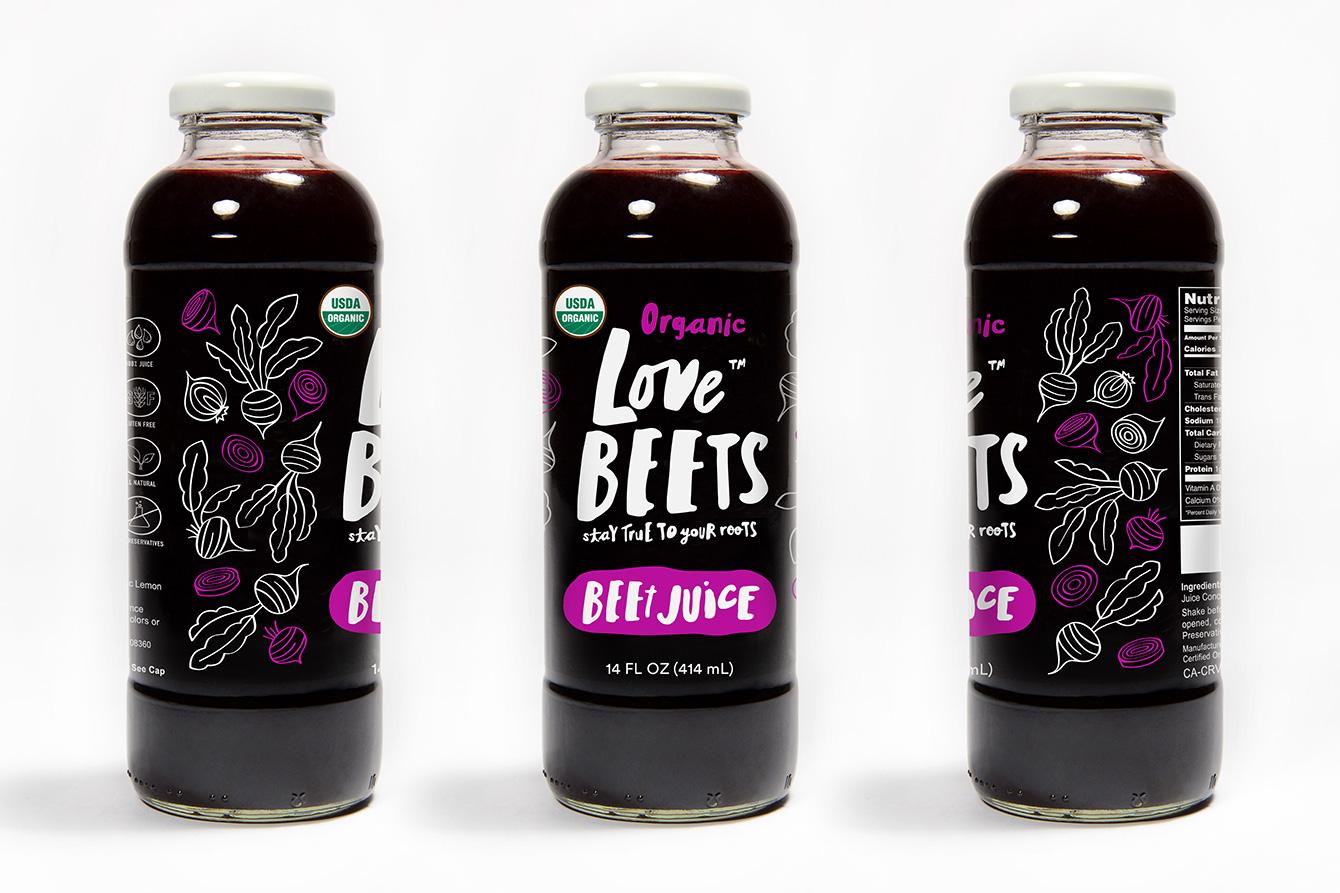 beet juice design