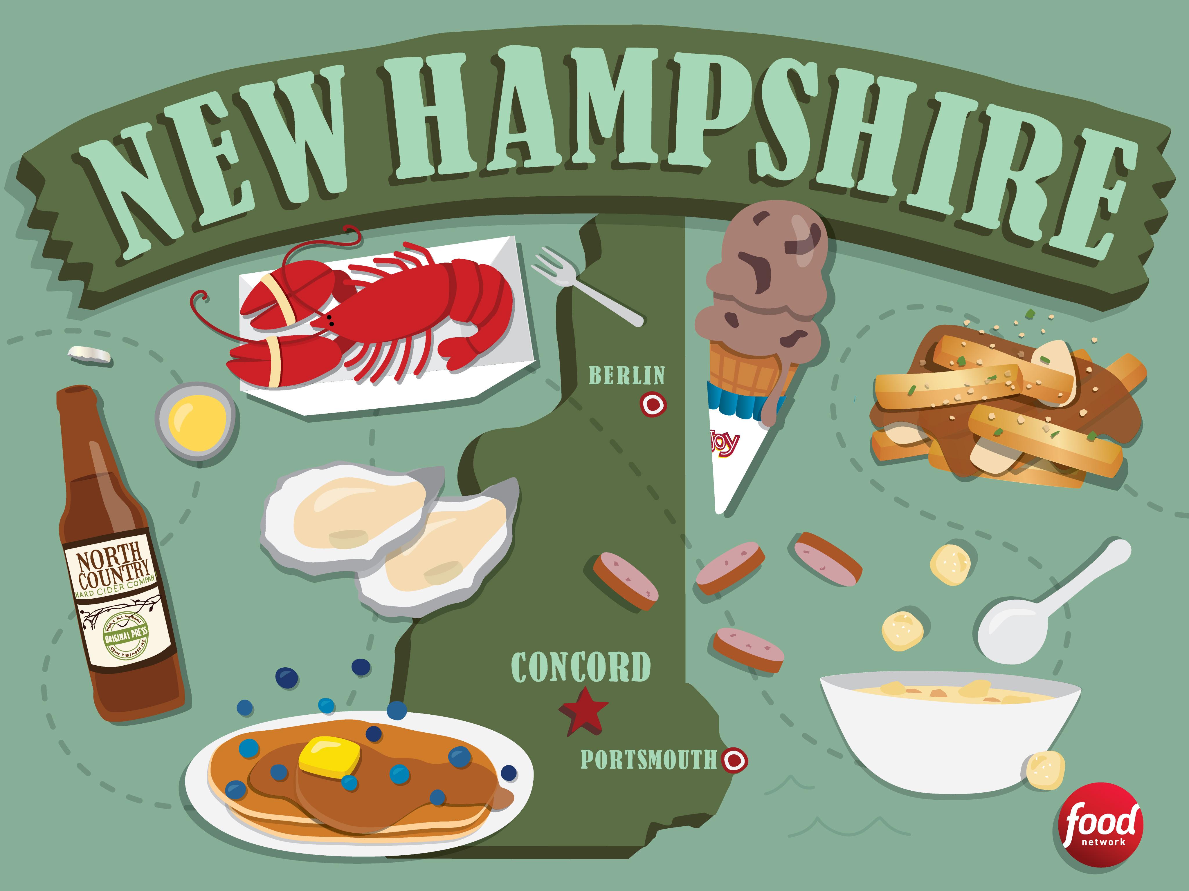 new hamshire food